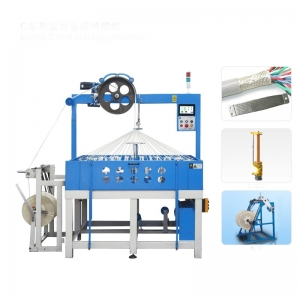 heavy metal braiding machine