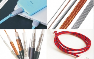 GuanBo wire and cable braiding machine applications